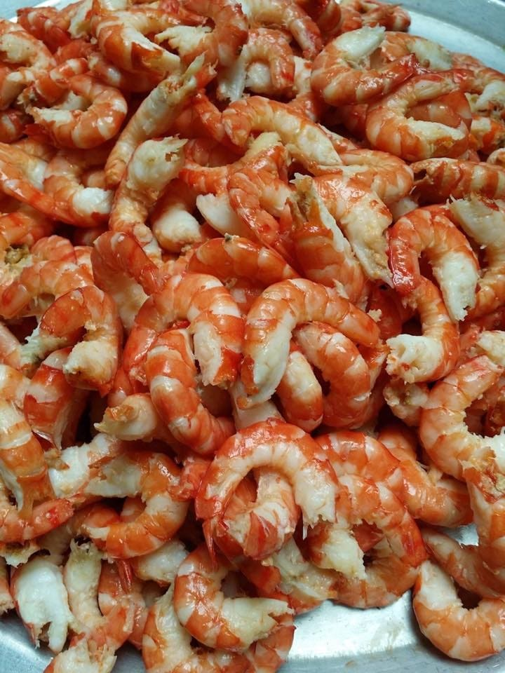 Salted shredded shrimp provide many kinds of needed nutrition for growth of children