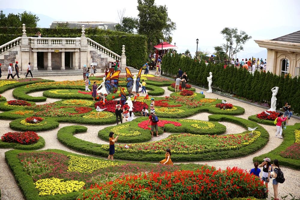 Ba Na Hill Flower Garden