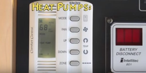RV Heating Options- PROS & CONS