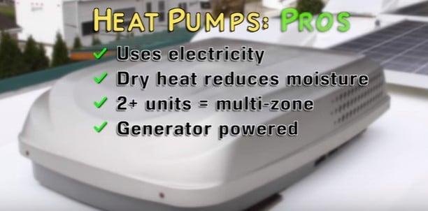 heat pumps pros