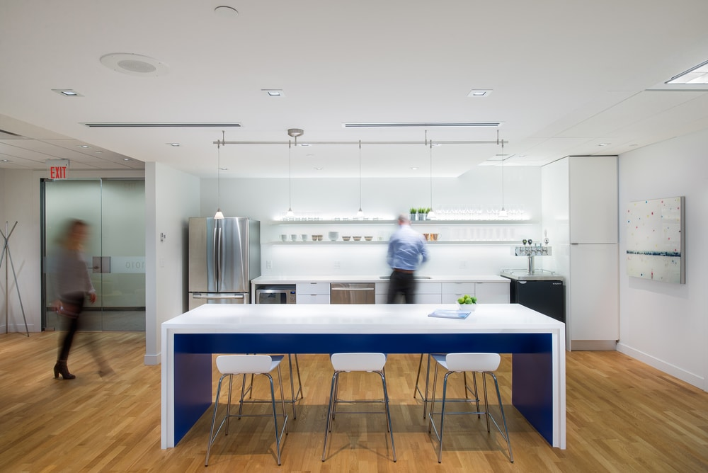 Modern kitchen which is facilitated every staff
