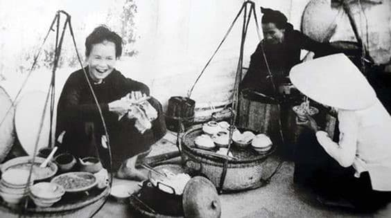 Cold snail noodle soup in the past